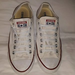 Converse Chuck Taylor CTAS Sneakers White 7/9 Low